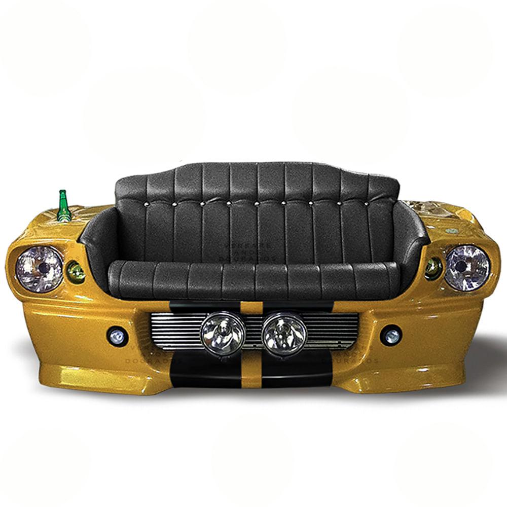 sofa-carro-mustang-shelby-2-lugares-amarelo-fundo-branco-versare-anos-dourados