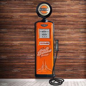 Bomba-de-combustivel-Harley-Davidson-com-Globo------------------------------------------------------