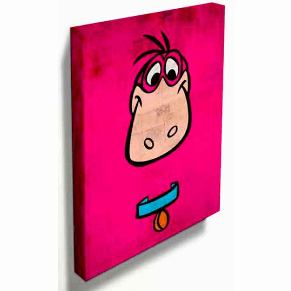 Quadro-Tela-Dino-Os-Flintstones---------------------------------------------------------------------