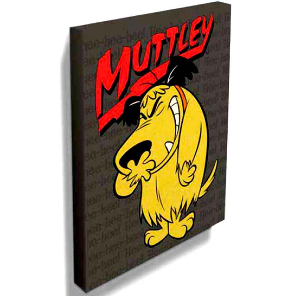 Quadro-Tela-Mutley-Corrida-Maluca-------------------------------------------------------------------
