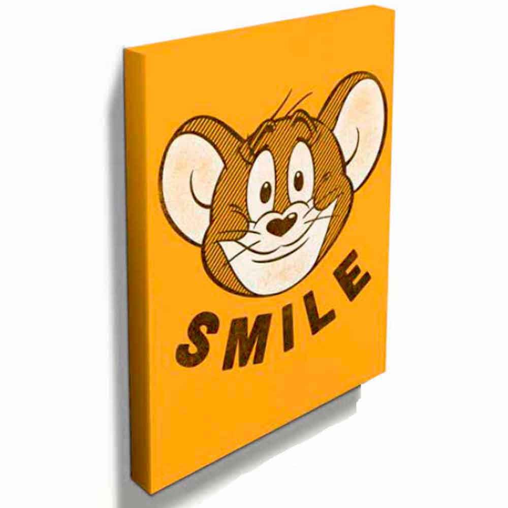 Quadro-Tela-Jerry-Tom-e-Jerry-----------------------------------------------------------------------
