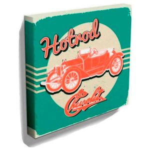 Quadro-Tela-Hotrod-Chevrolet-Retro