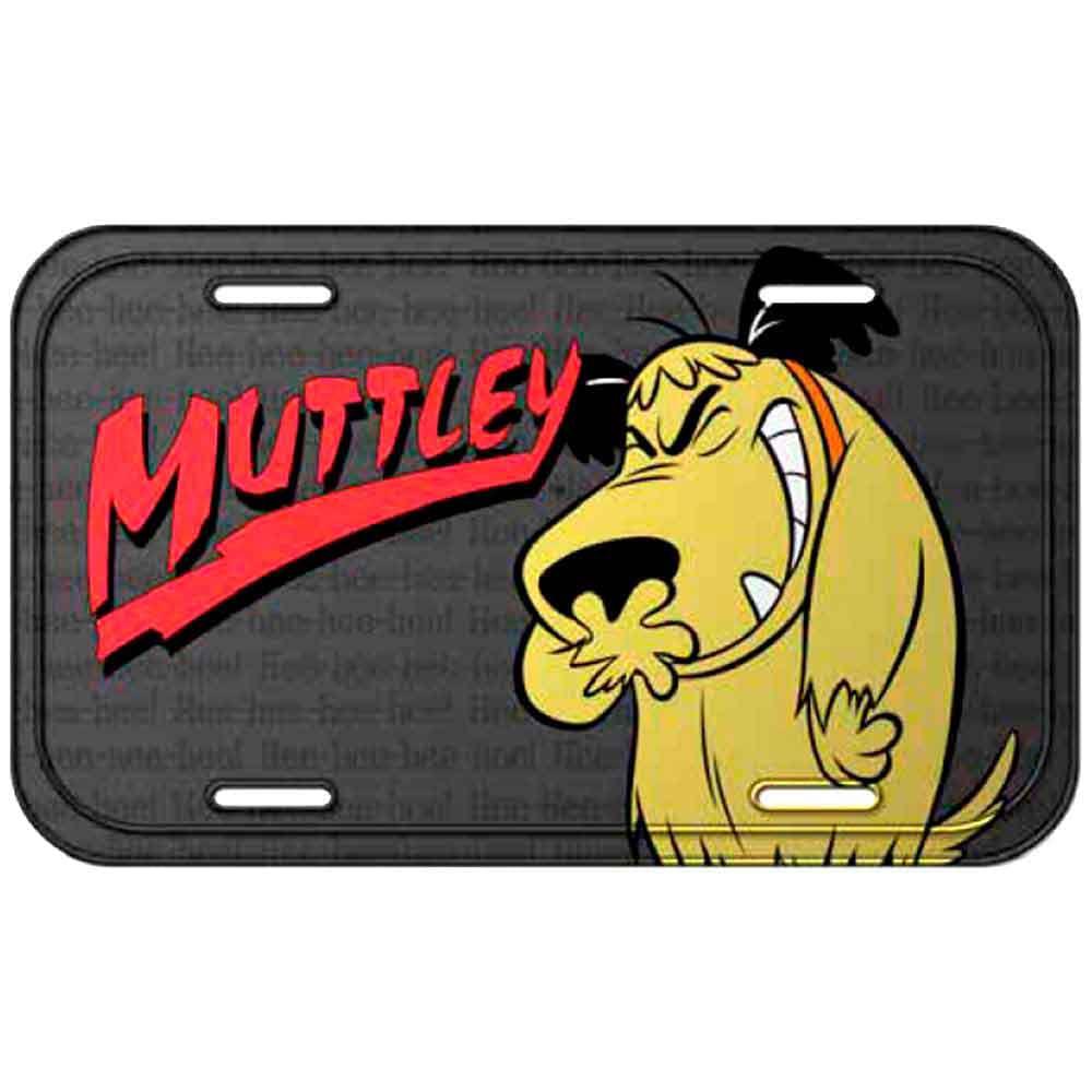 Placa-Metal-Mutley-Corrida-Maluca-------------------------------------------------------------------