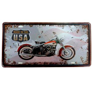 Placa-de-Carro-Moto-Made-In-The-USA-----------------------------------------------------------------