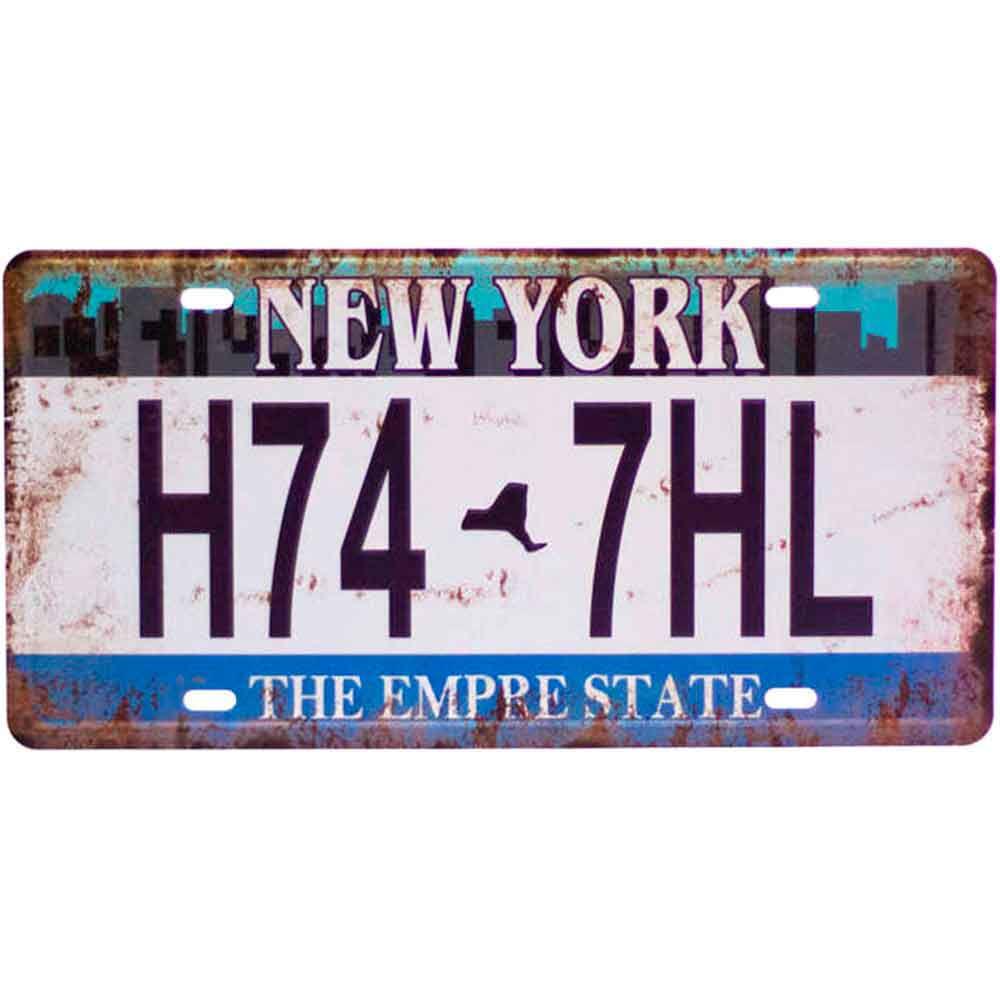 Placa-De-Carro-Decorativa-Em-Alto-Relevo-New-York-H74