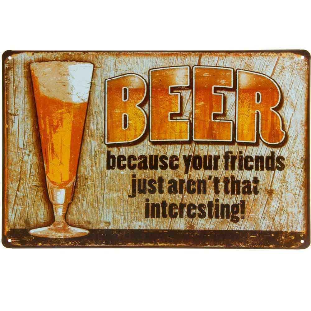 Placa-De-Metal-Decorativa-Beer-Because