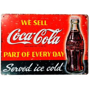 Placa-Decorativa-Mdf-We-Sell-Coca-Cola