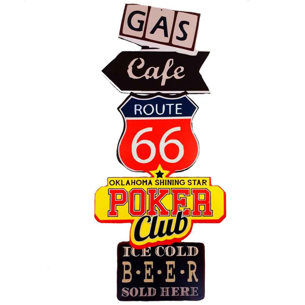 Placa-Decorativa-Gigante-Mdf-Route-66-Gas