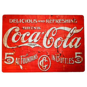 Placa-Decorativa-Mdf-Drink-Coca-Cola-Vermelho---Unica