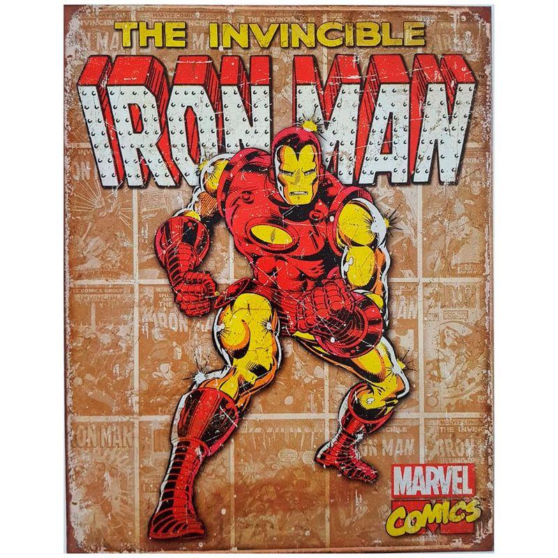 Placa-De-Metal-Iron-Man-Marvel