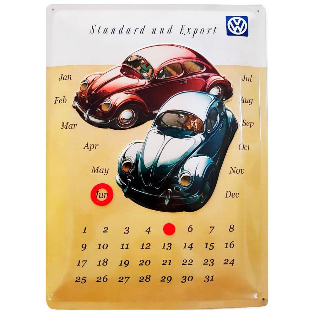 Placa-De-Metal-Calendario-Universal-Fusca-Volks