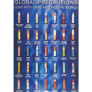 Quadro-Tela-Global-Precautions