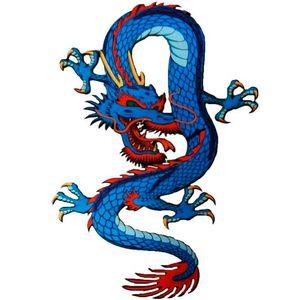 placa-decorativa-mdf-dragao-azul