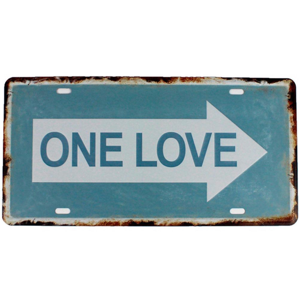 placa-de-carro-decorativa-em-metal-one-love-01