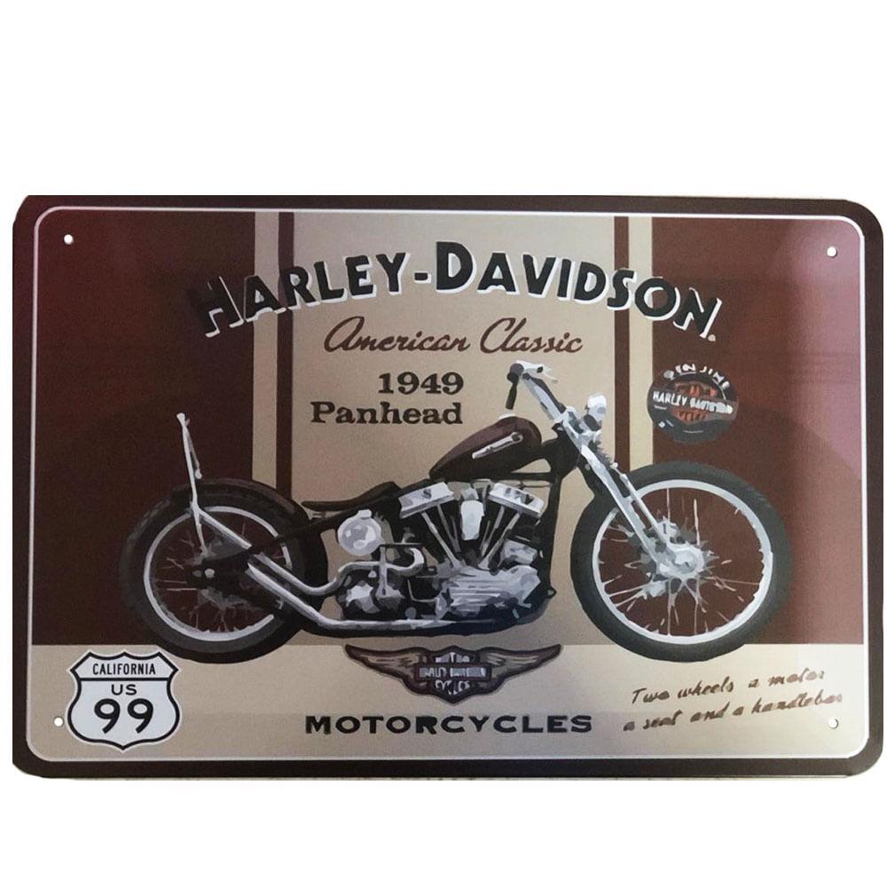 Placa-Decorativa-Harley-Davidson-1949