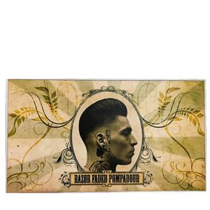 Placa-decorativa-razor-faded-pompadour