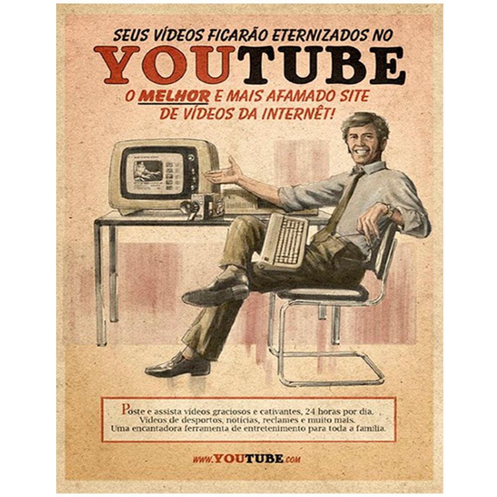 placa-mdf-retro-youtube