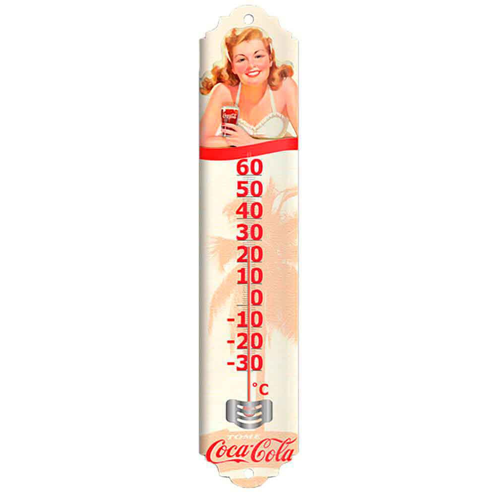 Termometro-Pin-Up-Bikini-Coca-Cola-Retro