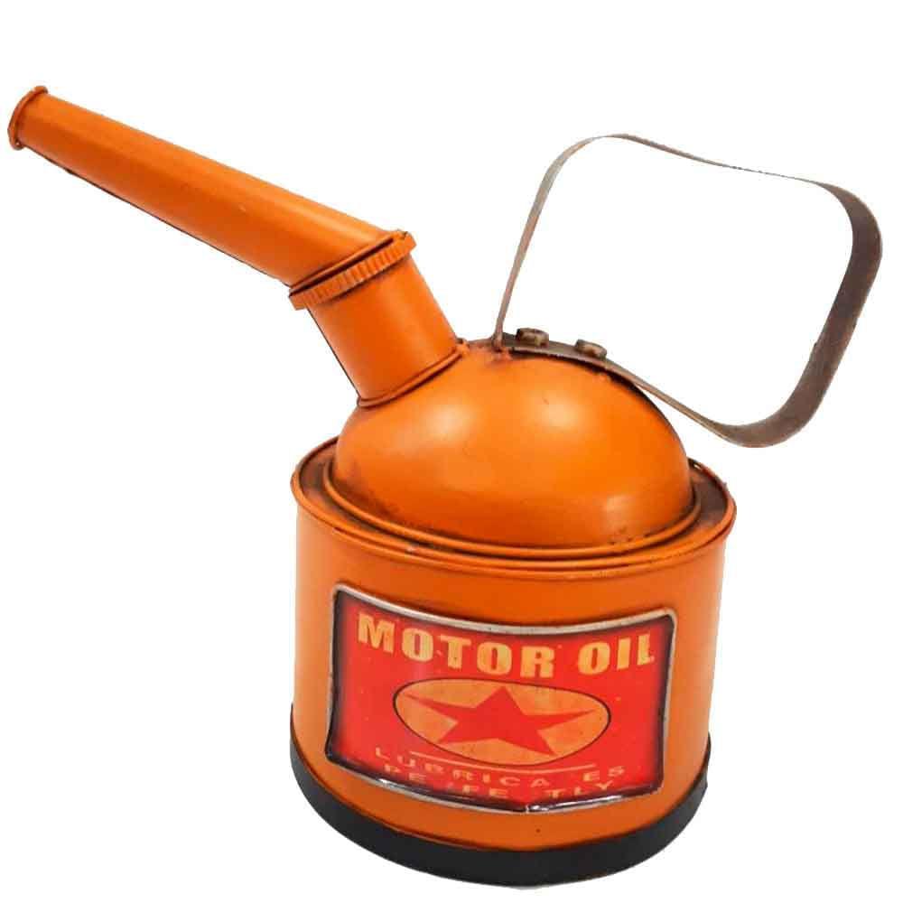 Miniatura-Lata-De-Oleo-Amarela-E-Cofre-De-Moedas