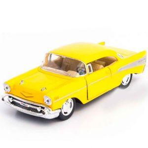 Miniatura-1957-Chevrolet-Bel-Air-Escala-1-40-Amarelo