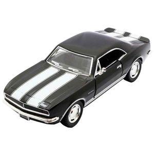 Miniatura-1967-Chevrolet-Camaro-Escala-1-37-Preto-E-Branco