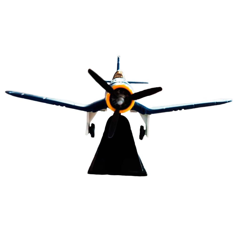 Miniatura-Colecionavel-Aeronave-Classic-Fighter-Azul-01