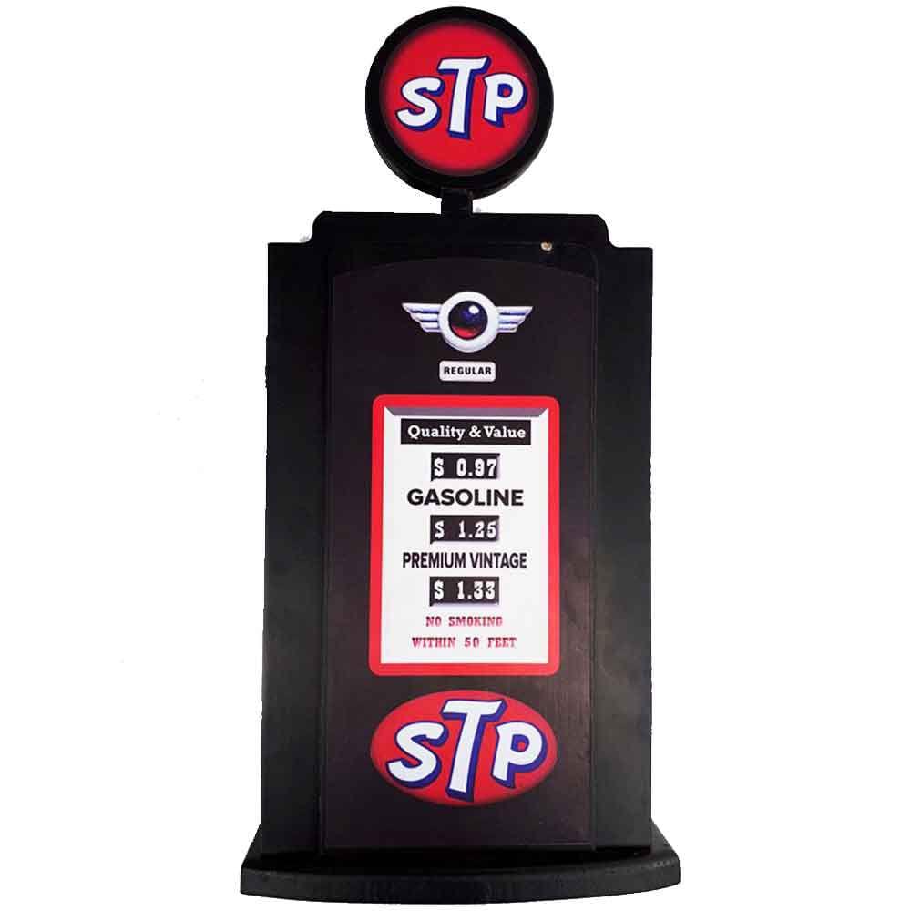 Porta-Chaves-Bomba-De-Combustivel-Preta-Stp