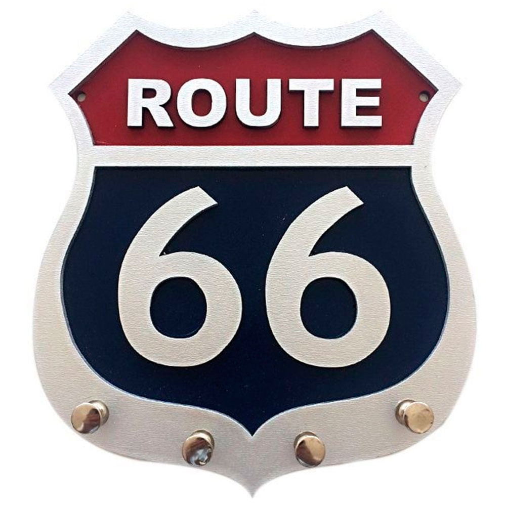 Porta-Chaves-Mdf-Route-66