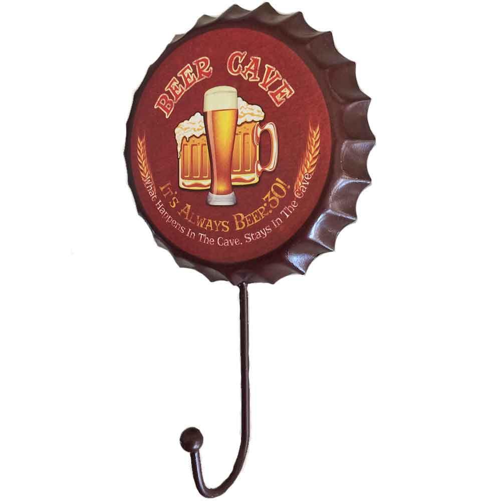 Gancho-De-Parede-Beer-Cave-Vermelho