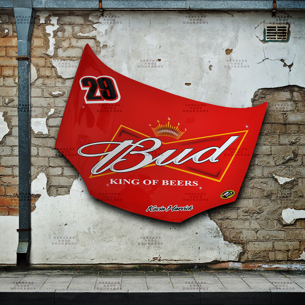 Capo-Kevin-Harvick-for-NASCAR-Budweiser-car---------------------------------------------------------