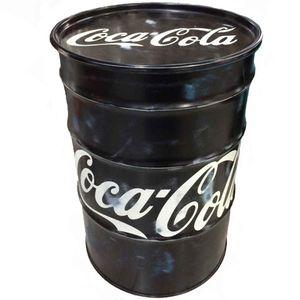 Tambor-Decorativo-Coca-Cola-Vintage-Industrial