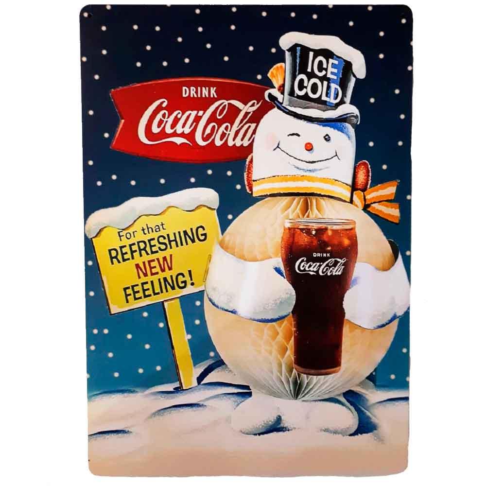 Placa-Decorativa-Mdf-Coca-Cola-For-That-Refreshing-New-Feeling