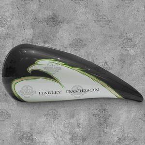 Tanque-de-Combustivel-Decorativo-Harley-Davidson-Eagle-Cinza-Foto-1