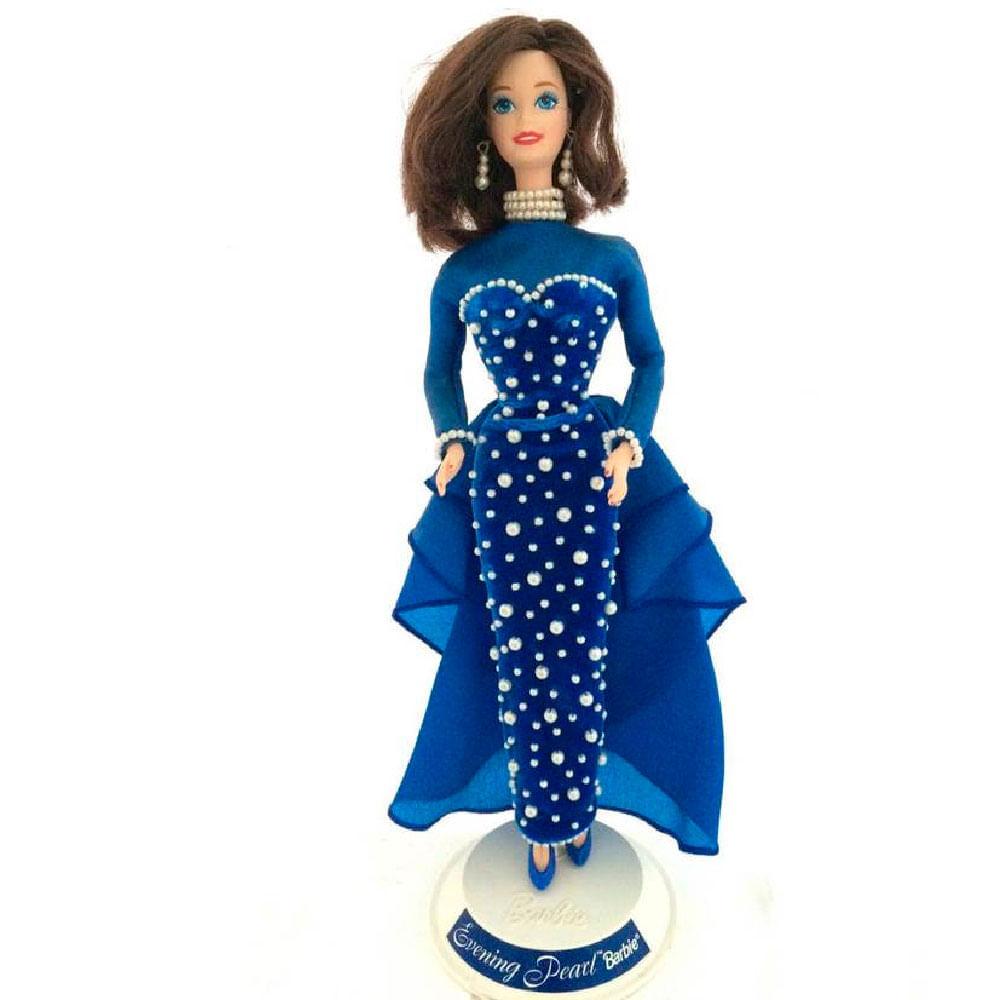 Barbie-De-Porcelana-Evening-Pearl-1995