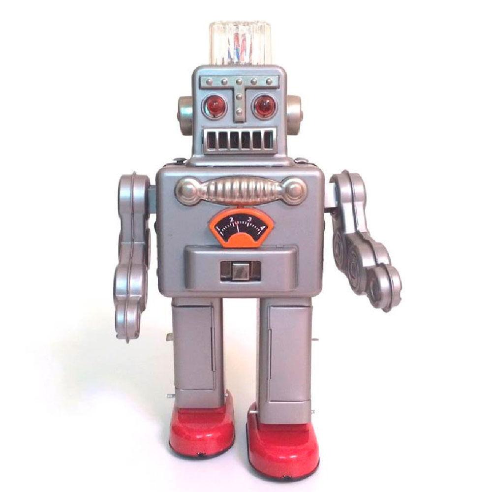 Smoking-Spaceman-Robot-De-Lata-Reedicao-De-1950
