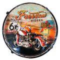 Banco-De-Metal-Motocicleta-Vintage