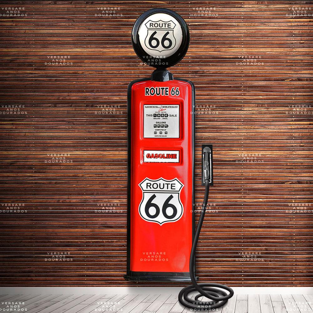 Bomba-De-Combustivel-Route-66-Com-Globo