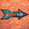 Placa-Led-Retro-Seta-Beer-Bar-----------------------------------------------------------------------