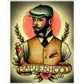 PLACA-DECORATIVA-PARA-BARBEARIAS-QUYEN-DIHN--BARBERHOOD---------------------------------------------