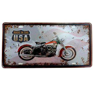 Placa-de-Carro-Moto-Made-In-The-USA-----------------------------------------------------------------