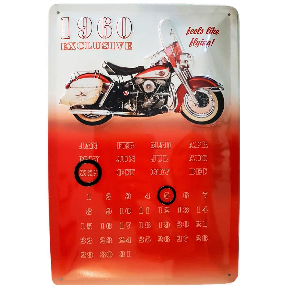 Placa-De-Metal-Calendario-Universal-Moto