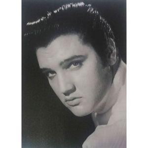 Quadro-Tela-Elvis-Presley-Blue-Christmas
