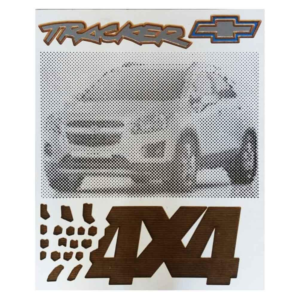 quadro-madeira-tracker-chevrolet-4x4