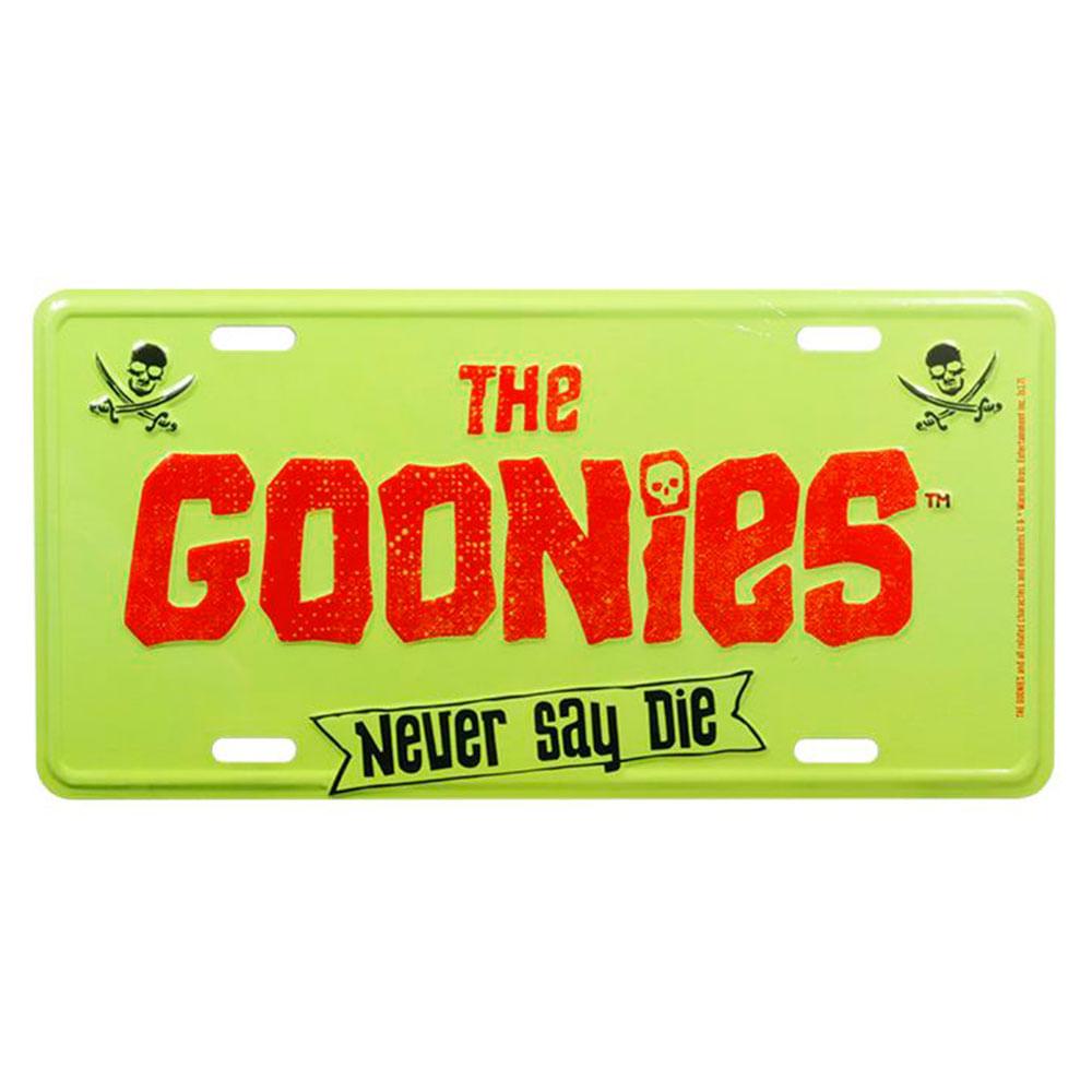 placa-decorativa-de-metal-the-goonies-never-say-die