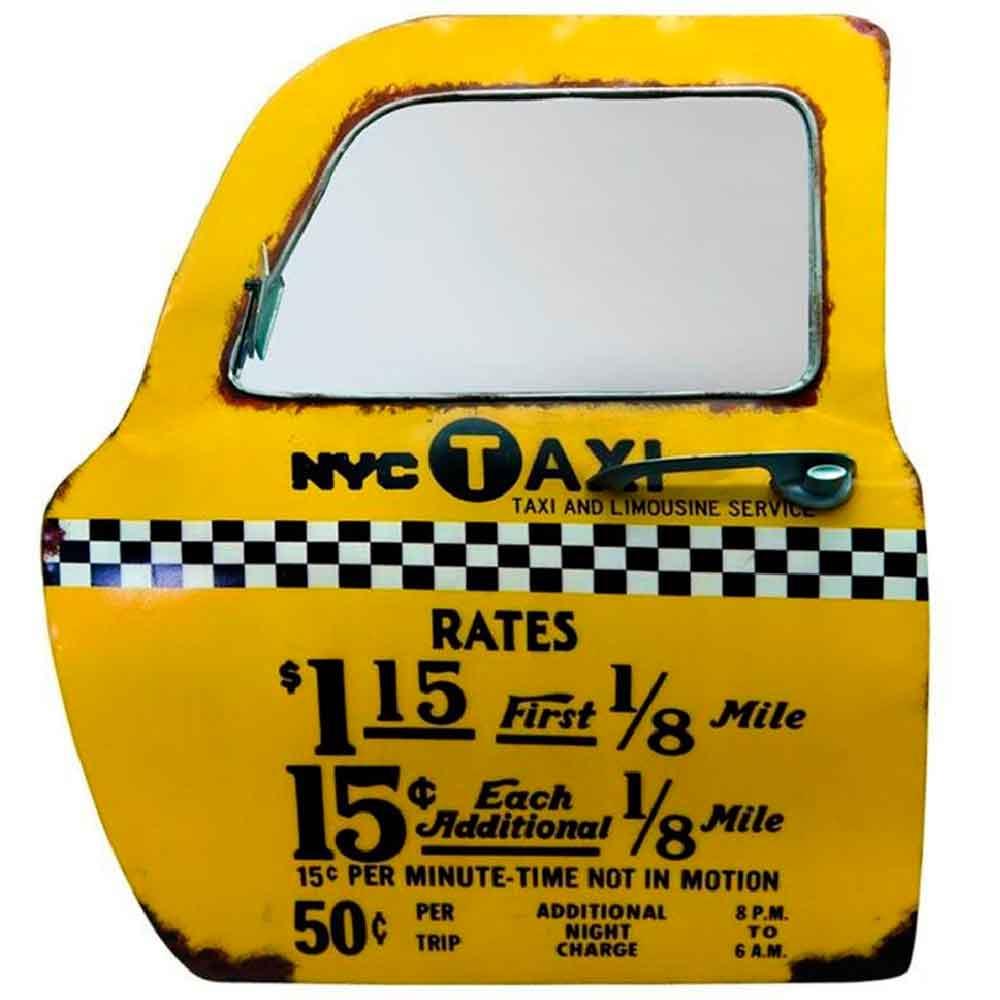 Porta-de-Carro-Decorativa-Taxi-NY-------------------------------------------------------------------