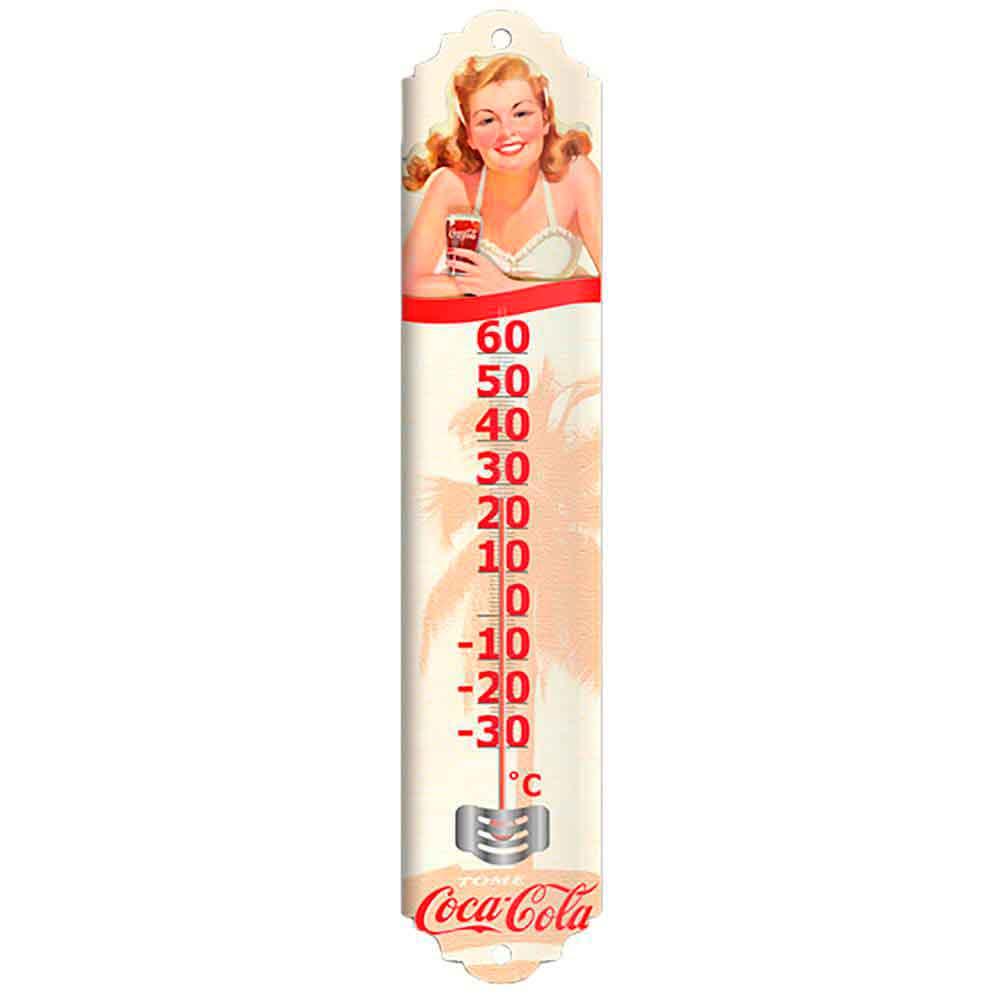 Termometro-Pin-Up-Bikini-Coca-Cola-Retro