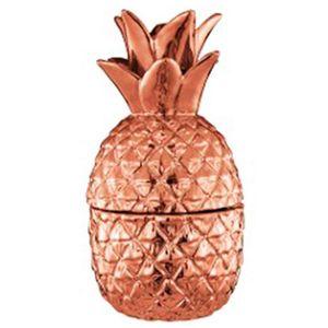 Abacaxi-Decorativo-Baleiro-Bronze