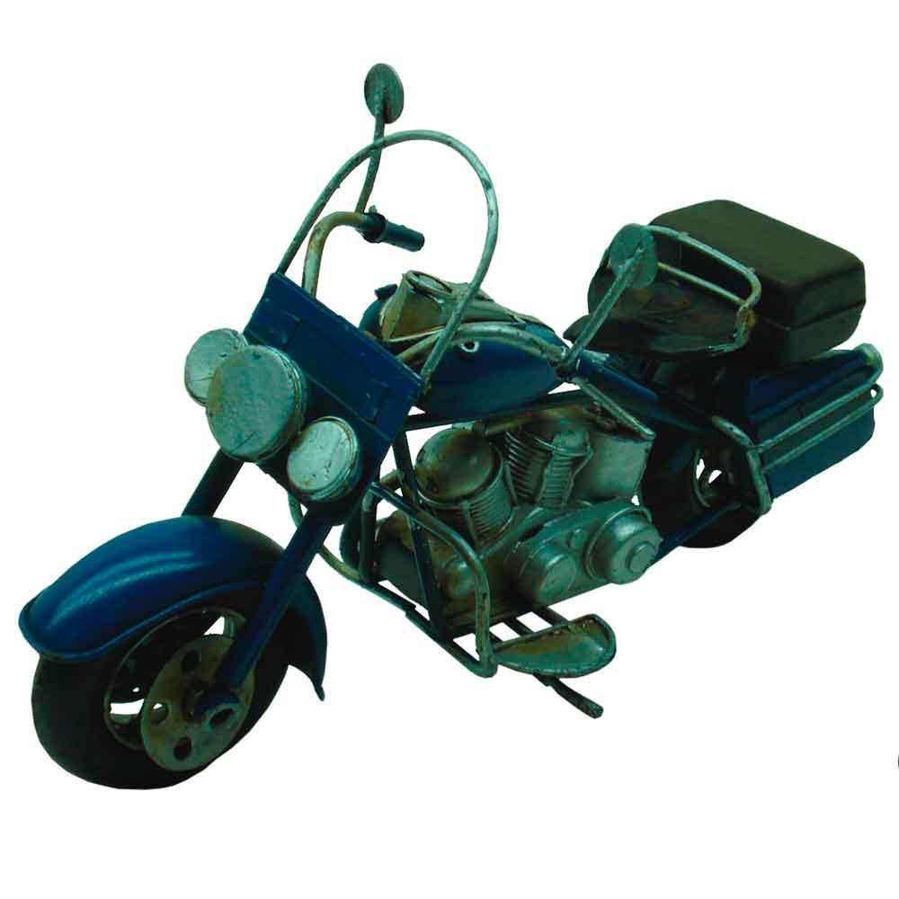 Miniatura-Motocicleta-Azul