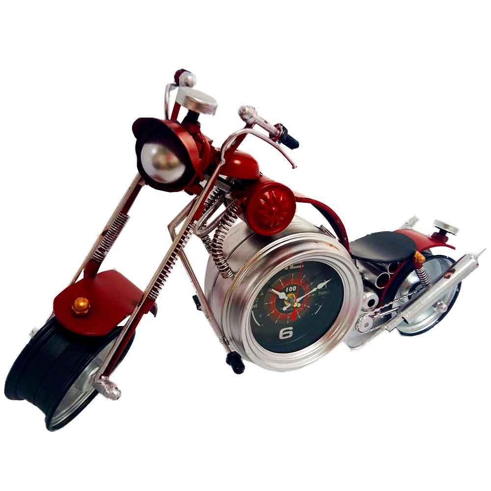 Relogio-de-Mesa-Retro-Motocicleta-------------------------------------------------------------------