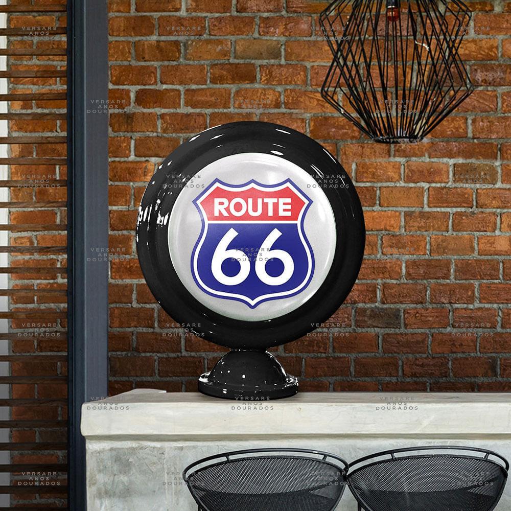 Luminaria-de-Mesa-Route-66--------------------------------------------------------------------------